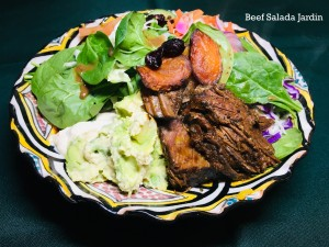 Beef Salada Jardin