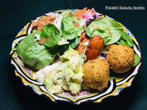Falafel Salada Jardin